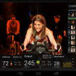 Peloton Exercise Bike Android Tablet 4