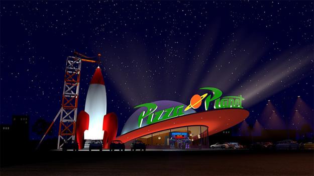 Pizza Planet restaurant chain