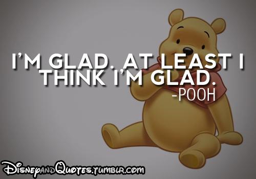 Pooh Glad