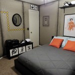 Portal-Themed Bedroom