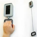 Pull-a-Handle Alarm Clock