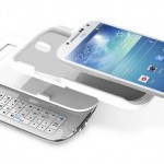 Samsung Galaxy S4 Sliding Bluetooth QWERTY Keyboard Case 2