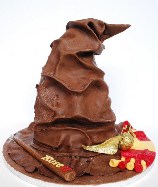 Sorting Hat Cake