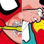 Spider Brushing, Bra Padding