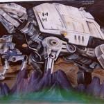 Star Wars At-At Graffiti 2