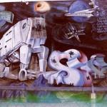 Star Wars At-At Graffiti 4