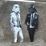 Star Wars Business Meeting Graffiti