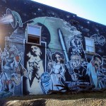 Star Wars Graffiti in Olympia, Washington