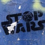 Stop Wars Graffiti
