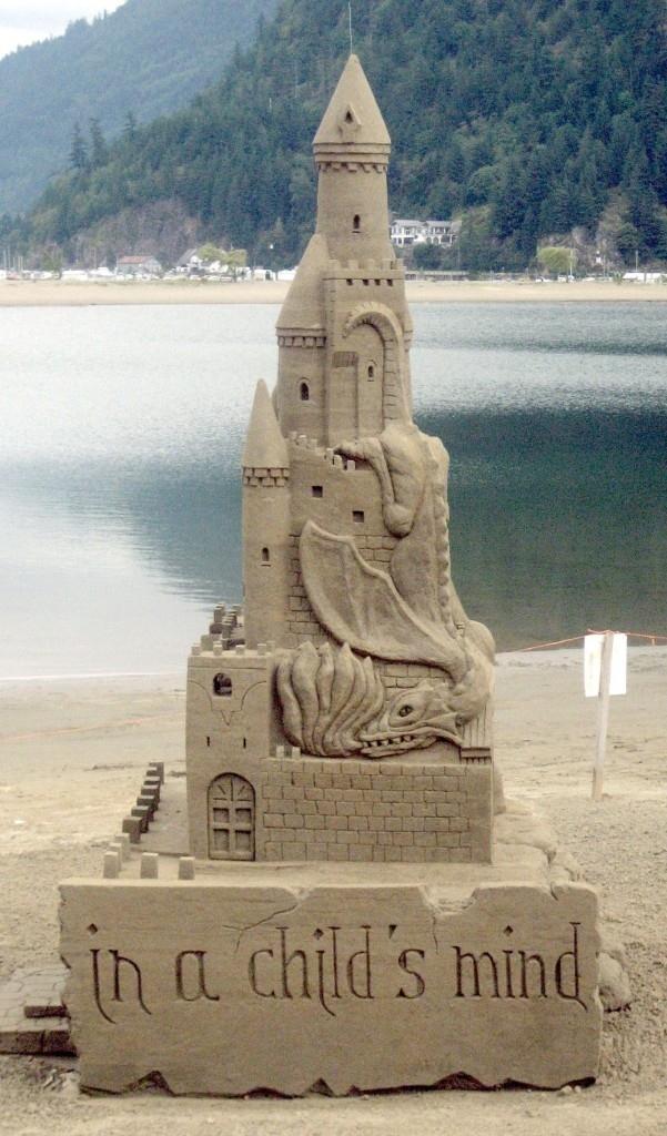 The Dragon Guarding the Castle