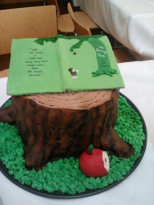 The Giving Tree Cake