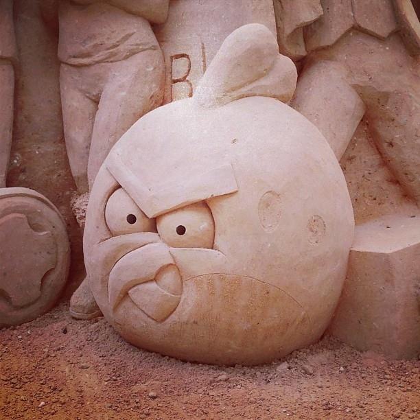 The Rare and Angry Sand Bird
