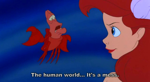 The little mermaid quote