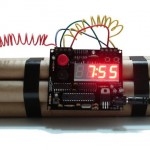 Time-Bomb Alarm Clock