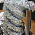 Tornado Book Stacking