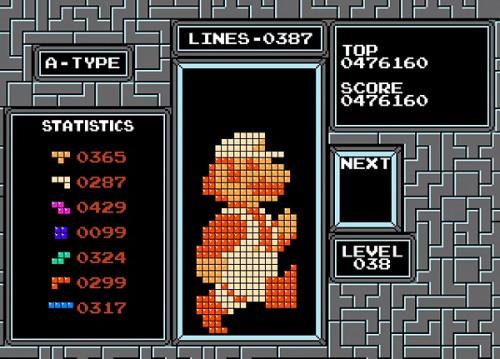 Tetris printer by Michael Birken