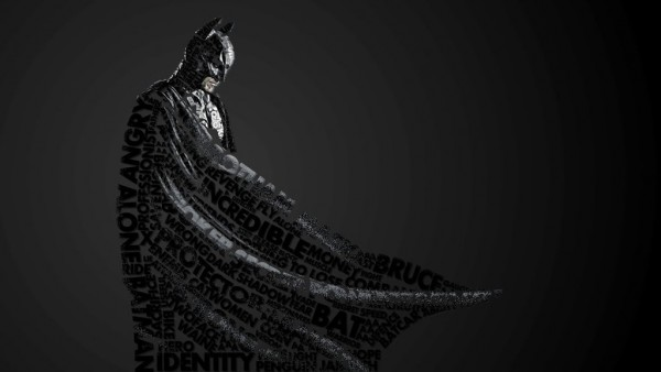 Batman Typography