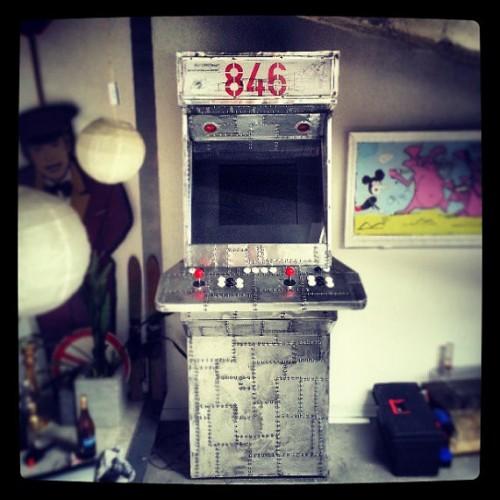 Fighter Jet arcade cabinet by Radek Michalowski image 1