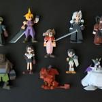Final Fantasy 7 3D printer polygon figures by Joaquin Baldwin image 2