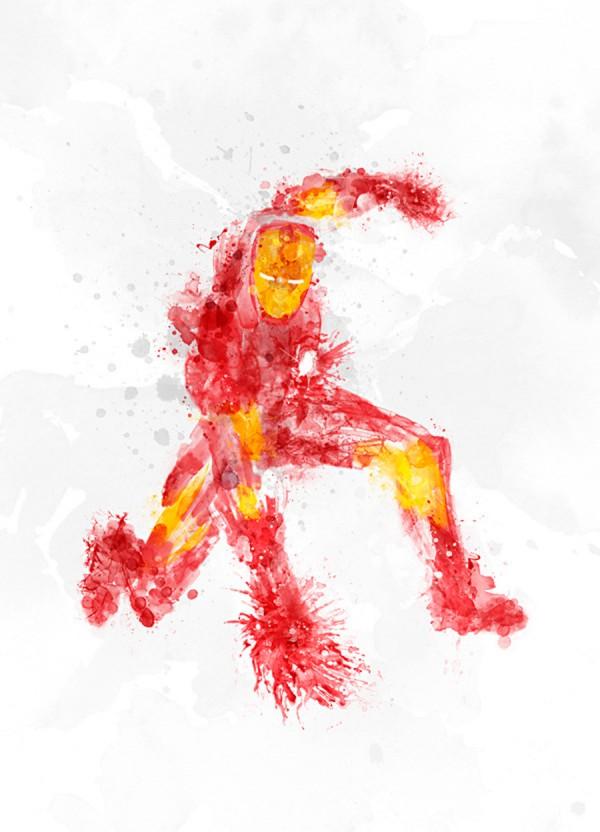 Iron Man Blurry
