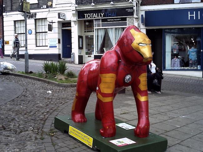 Iron Man Gorilla 1