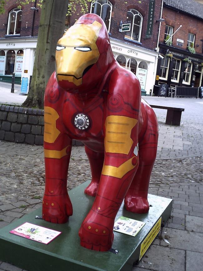 Iron Man Gorilla 2
