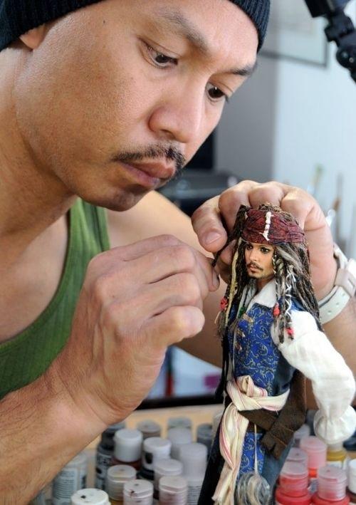Johnny Depp - Captain Jack Sparrow Doll
