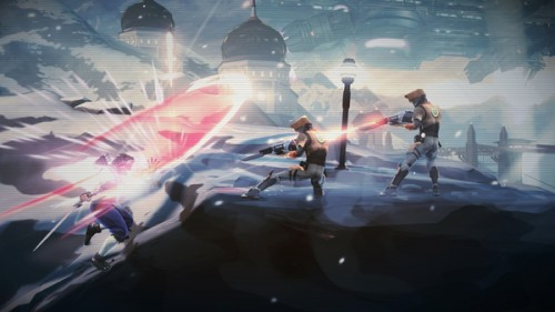New Strider Game At SDCC gameplay image