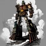 Optimus Prime – Steam Engine