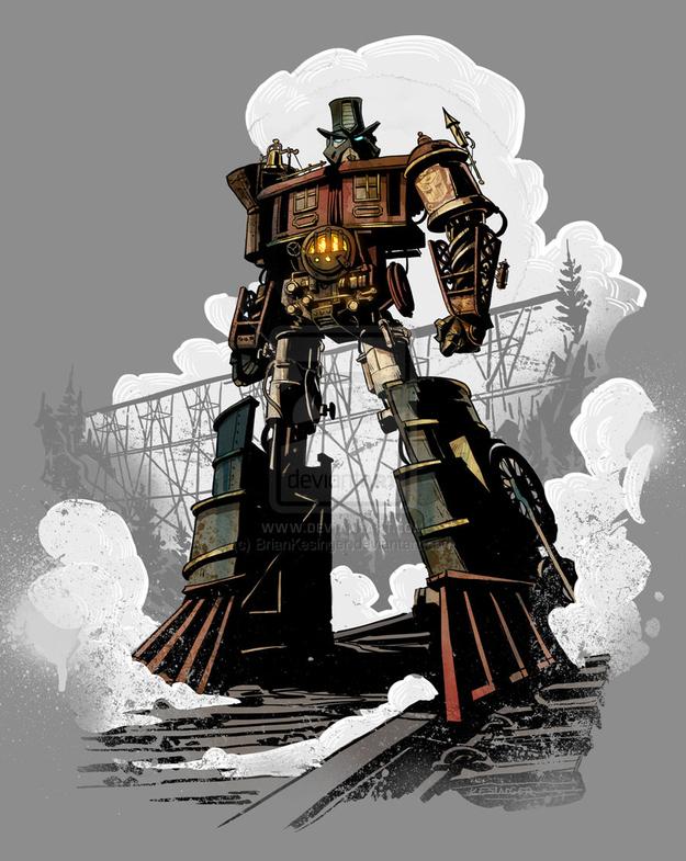 Optimus Prime - Steam Engine