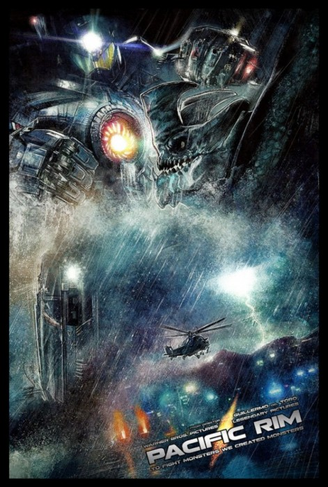 Pacific Rim poster by Paul Shipper image