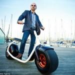 Scrooser Bike-Segway Hybrid