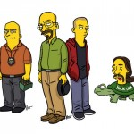 Meth-Cooking Gringos Get the Simpsons Treatment
