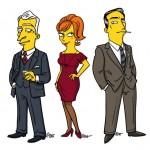 Simpsons Mad Men