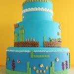 Super Mario Bros Levels Cake 2