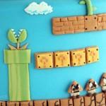 Super Mario Bros Levels Cake 3