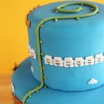 Super Mario Bros Levels Cake 4