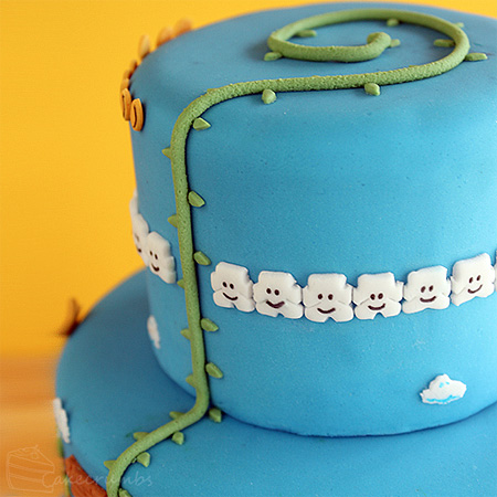 Super Mario Bros Levels Cake 4