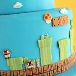 Super Mario Bros Levels Cake 5