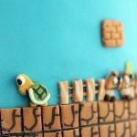 Super Mario Bros Levels Cake 7