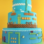 Super Mario Bros Levels Cake 9
