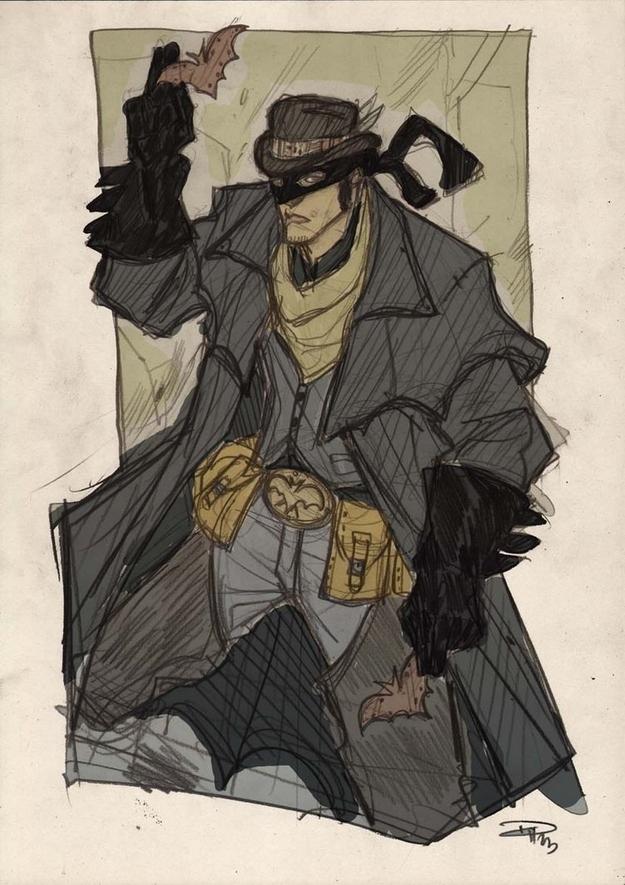 Western Batman
