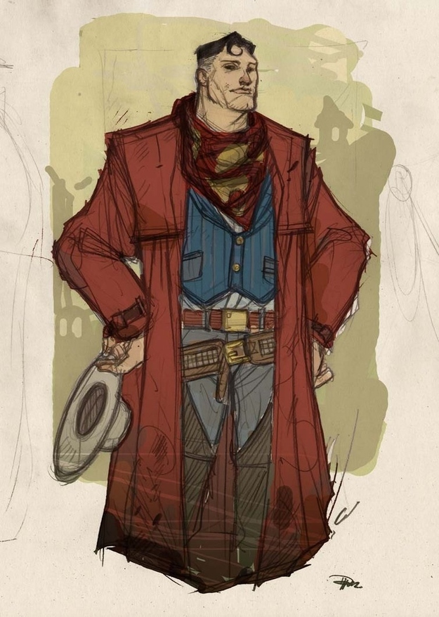 Western Superman