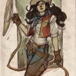 Wonder Woman Western