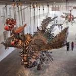 Xu Bing Phoenix Installation