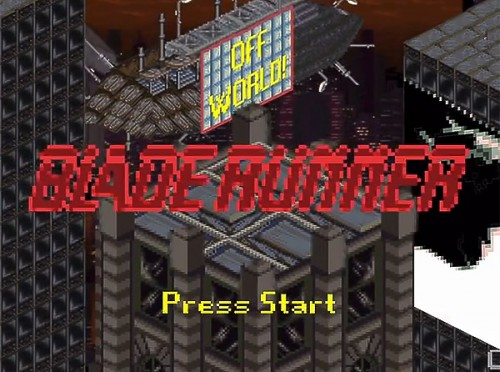 16 bit Blade Runner image