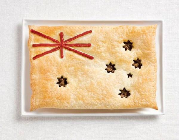 Australia Food Flag