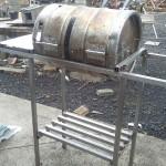 DIY Beer Keg BBQ Barrel Made without Welding