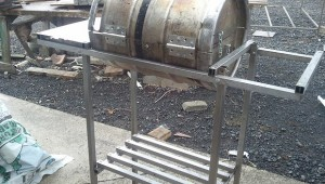 DIY Beer Keg BBQ Barrel Made without Welding