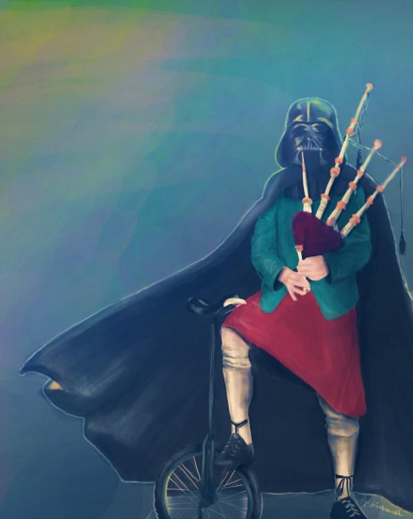Darth Vader & Bagpipes